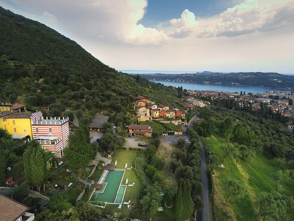 Villa Bissiniga e il Lago di Garda