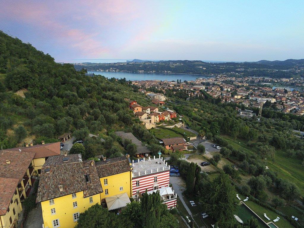 Villa Bissiniga and the Gulf of Salò