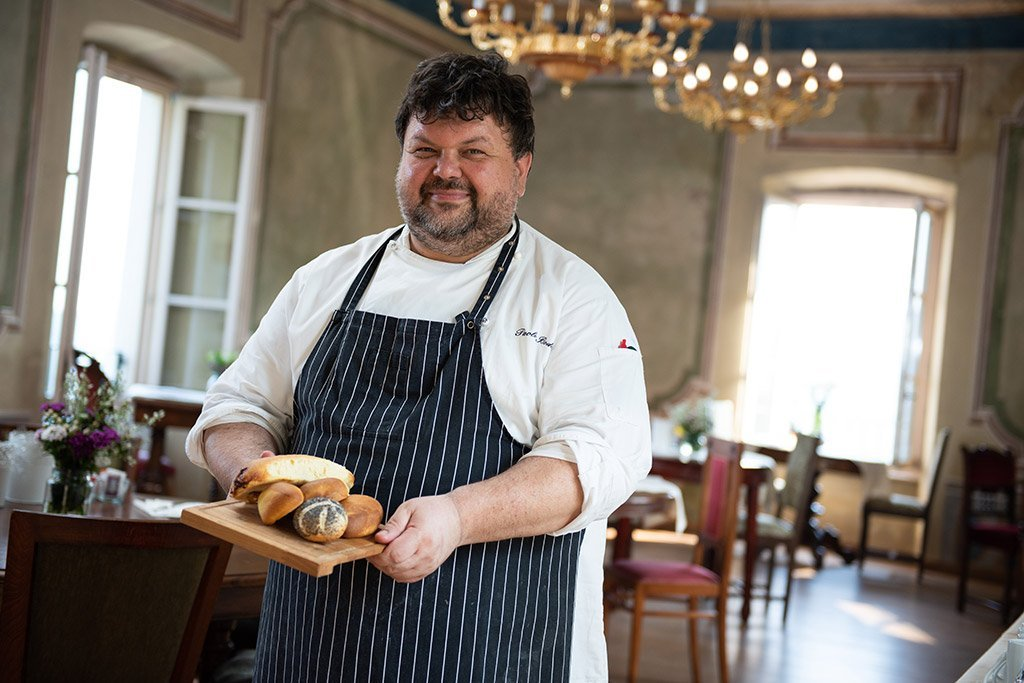 Paolo Bodon is the Executive Chef at the Villa Bissiniga Relais Farmhouse in Salò - Lake Garda