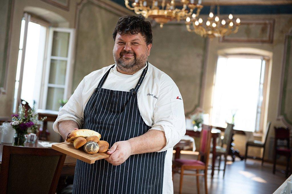 Paolo Bodon is the Executive Chef at the Villa Bissiniga Relais Farmhouse in Salò - Lake Garda