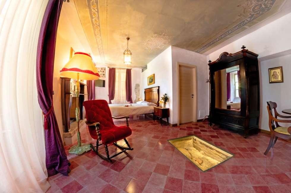 Villa Bissiniga Relais Farmhouse, Lake Garda - Peler guest room