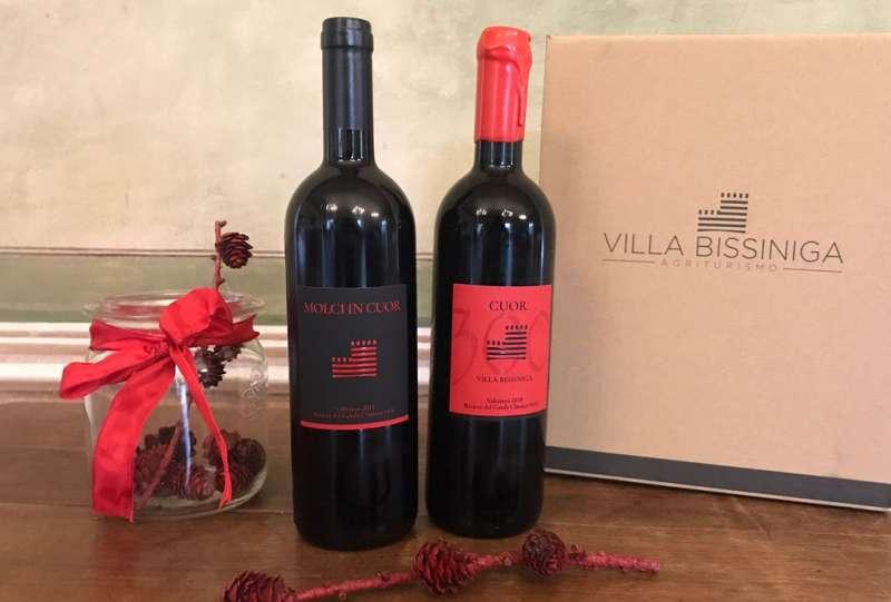 Vini rossi Valtenèsi di Villa Bissiniga